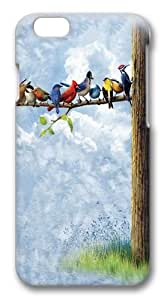 Bird Tree Custom iphone 6 plus 5.5 inch Case Cover Polycarbonate 3D