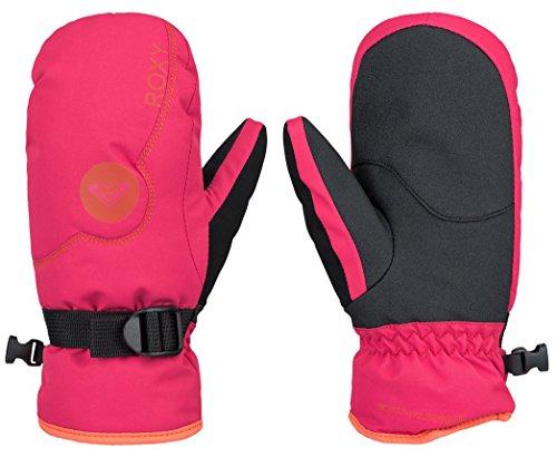 (Roxy Girls Jetty Solid Mitt Gloves, Azalea, Large)