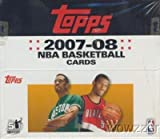 2007/08 Topps NBA Basketball MASSIVE 24 Pack Factory Sealed Retail Box with 276 Cards! Rare KEVIN DURANT Factory Sealed Rookie Year Product !! Loaded with Cool Inserts and Rookie Cards !