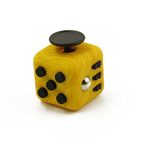 FC USA Fidget Cube, 6 sided-fidget toys for Adhd, practical fidget toys for adults or kids-,Relieves Anxiety, Stress, Boredom,Includes E-Book-How to Focus and Fidget Less