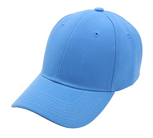 Top Level Baseball Cap Hat Men Women - Classic Adjustable Plain Blank, ()