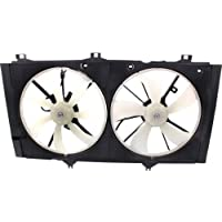MAPM Premium CAMRY 10-11 / VENZA 09-15 RADIATOR FAN SHROUD ASSEMBLY, 4 Cyl, Dual Type, Auto Trans, w/o Towing Pkg