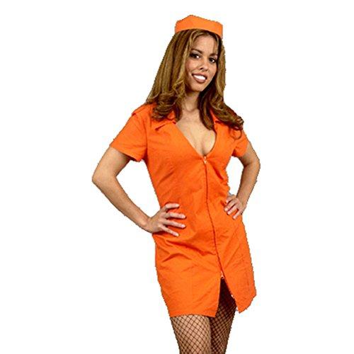 Orange is the New Black Prison Convict Costume XSmall ()
