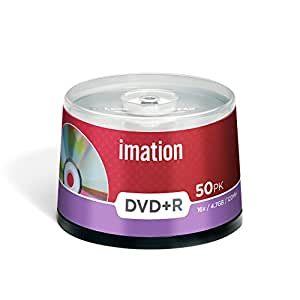 Imation I21750 - Pack de 50 DVD+R, 4.7 GB