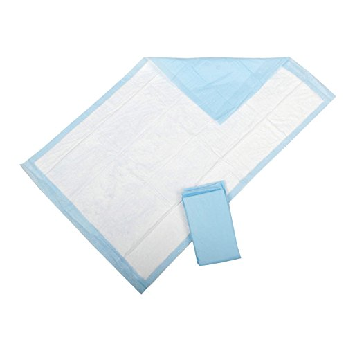 Medline Protection Plus Disposable Underpads, 200 Count (Pack of 12)