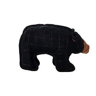 TUFFY Junior Zoo Animal Bear, Durable Dog Toy, Small