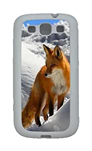 Winter Fox Custom TPU Rubber Soft Case and Cover for Samsung Galaxy S3 /S III White