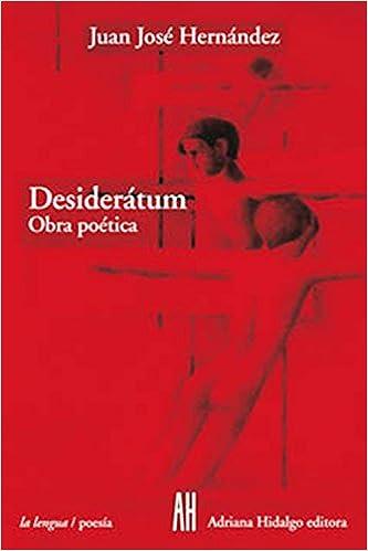 Book Desideratum: Obra Poetica, 1952-2001 (La Lengua/Poesia)