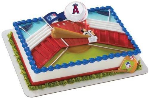 Anaheim Angels Home Run Cake Topper Set