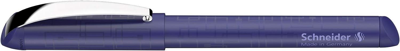 schwarz Schneider Glam VIP F/üller f/ür Rechts- und Linksh/änder, inkl. Tintenpatrone k/önigsblau