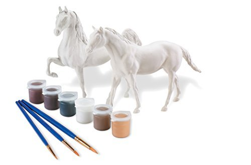 Breyer Paint Your Own Horse Activity Kit - Quarter Horse and Saddlebred by Breyer