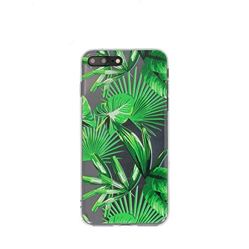 iPhone 5s Case,iPhone SE Case,Girls Beach Green Summer Bahama Leaves Funny Cute Summer Plants Big Leaf Tropical Palm Leaves Beach Summer Hawaii Love Case for Women Clear Soft Case for iPhone 5S SE (Iphone 5s Case Beach Quotes)