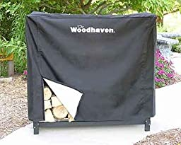 4\' Woodhaven Firewood Rack Full Cover