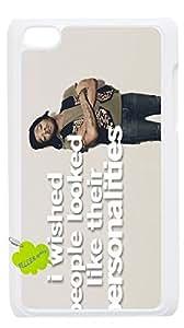 Plástico de moda teléfono Carcasa iPod touch4, teléfono, para Kid Cudi.