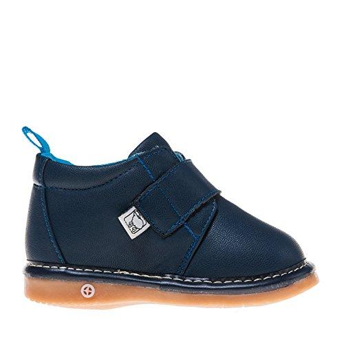Little Blue Lamb , Baskets pour garçon Bleu Navy Blau