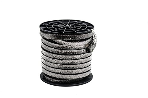 Phelps Style 2105 - Flexible Pure Graphite Compression Packing - 3/16'', 10 Lb