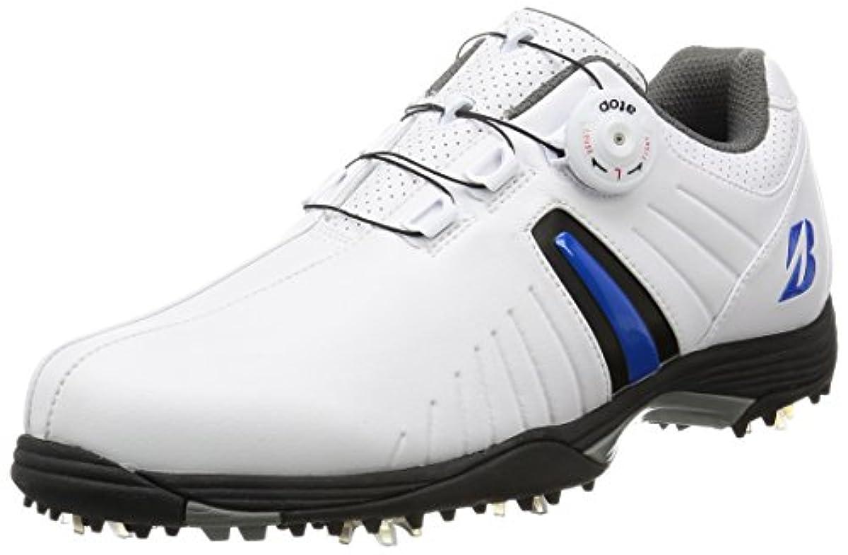 [해외] [브리지스톤] 골프 골프 슈즈,스파이크,다이얼식 SHG720WB 맨즈 화이트/블루 24.5 CM 3E