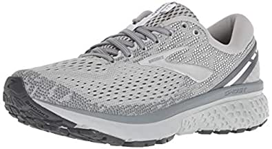 Brooks Australia Women's Ghost 11 Road Running Shoes, Grey/Silver/White, 8.5 US