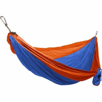 Grand Trunk DH-27 Double Parachute Hammock, Nylon, Orange/Blue - Quantity 24