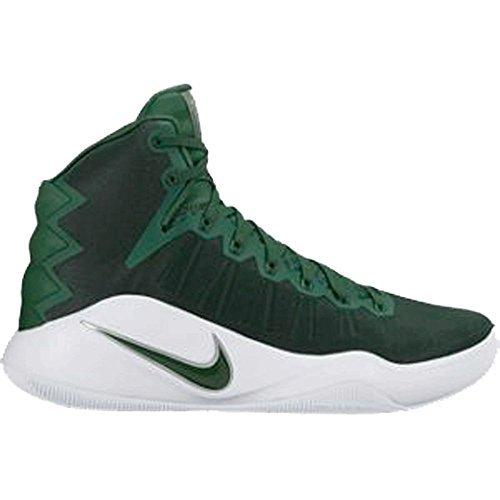 4ef6ff7e52f7 Galleon - Nike Men s Hyperdunk 2016 TB Basketball Shoes 844368 331 Green  Size 13