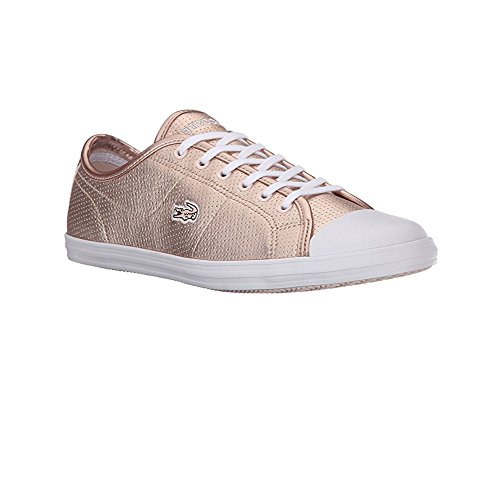 Lacoste Women's Ziane 116 1 Fashion Sneaker, Pink, 8 M US