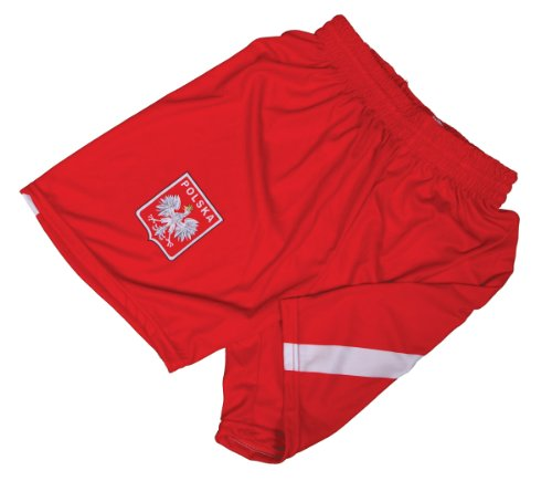 Polish Apparel Red Shorts with Eagle Small (Polish National Soccer Team compare prices)