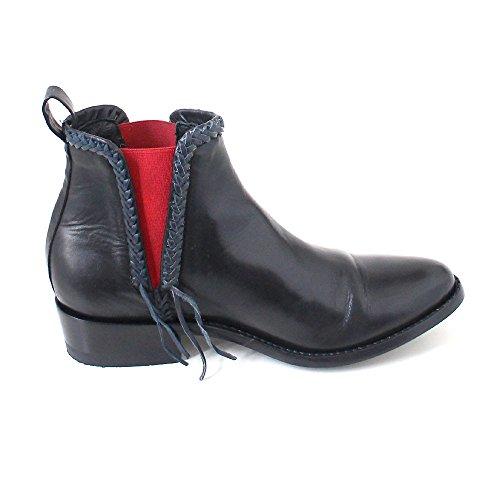 Mexicana Pequenia 6 London Zwart / Rood Zwart (londen Zwart / Rood)