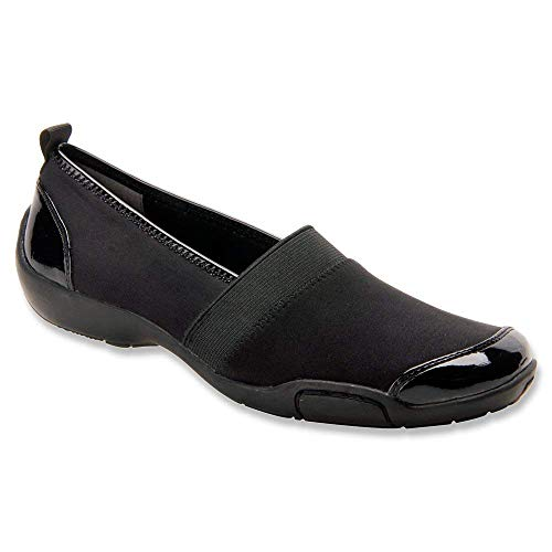 Ros Hommerson Womens Carol Closed Toe Loafers, Black, Size 8.5