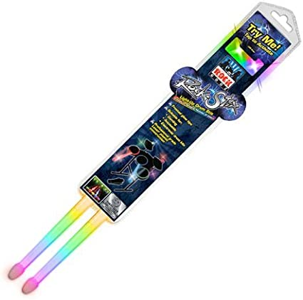 Electric Light Up Drumsticks Multi Colors Amazon Co Uk Musical Instruments