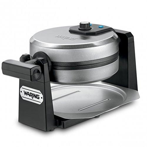 Waring Pro WMK200 Belgian Waffle Maker, Stainless Steel/Black (CERTIFIED REFURBISHED)