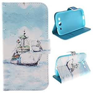 QHY Samsung S3 I9300 compatible Graphic PU Leather Full Body Cases