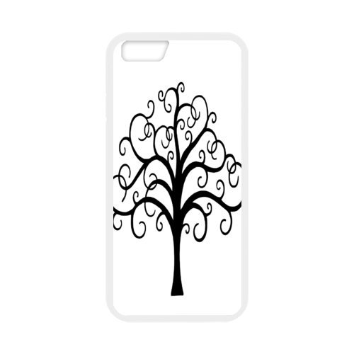 """Fayruz - iPhone 6 Rubber Cases, Tree of Life Hard Phone Cover for iPhone 6 4.7"""" F-i5G91"""