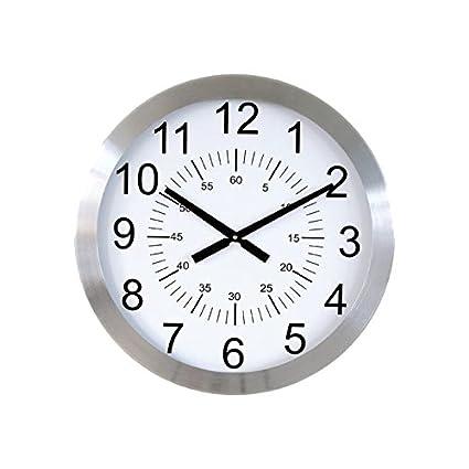 6e9fc6772 Orium-Reloj de Pared de Aluminio, básico 11455 Metal, 60 cm de diámetro