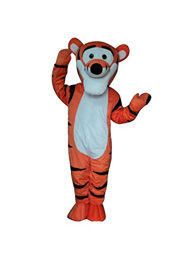 Tigger Tiger Winnie The Pooh Friend Mascot Costume Fancy Dress (Winnie The Pooh Outfit For Adults)