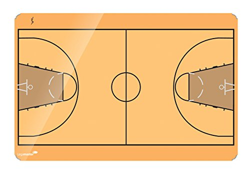 Legamaster 7 103933 Whiteboard Accents Basketball Field Installation Kit, 30 x 40 cm ()