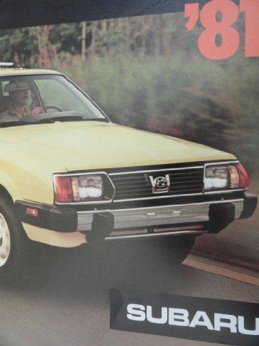 - 1981 Subaru 4WD Brat / Wagon / Hatchback Sales Brochure