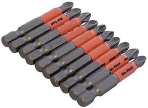 Am-Tech - Brocas antideslizantes (50 mm, 10 unidades)