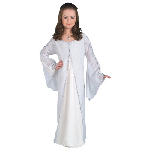 [Harry Potter Hedwig Deluxe Child Costume 4-6] (Lord Of The Rings Child Arwen Costume)