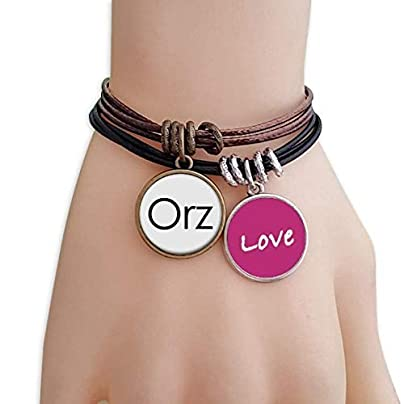 Metftus Quote Worship Love Bracelet Leather Rope Wristband Couple Set Estimated Price -
