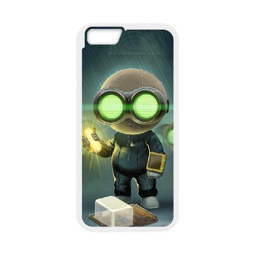 Stealth Inc. 2 A Game Of Clones 3 coque iPhone 6 Plus 5.5 Inch cellulaire cas coque de téléphone cas blanche couverture de téléphone portable EEECBCAAN01278