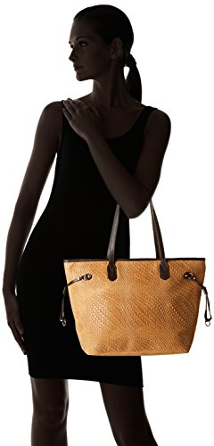 80061 Brown Shoulder Bag Cuoio Borse Women's Chicca q0wFOF