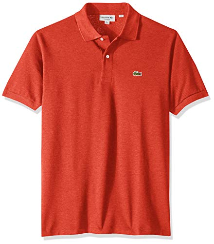 (Lacoste Mens Classic Chine Pique Polo Shirt CLUSI, Large)