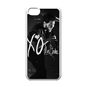 C-EUR Print The Weeknd XO Pattern Hard Case for iphone 5c iphone 5c