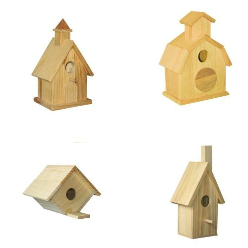 4 Assorted Bird House Kits III