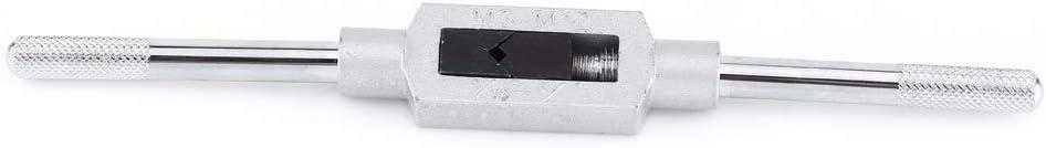 8pcs M3-M12 Tap Wrench Drill Set Hand Tapping Tools Metric Screw Thread Tap Twist Drill Bit Tap Wrench