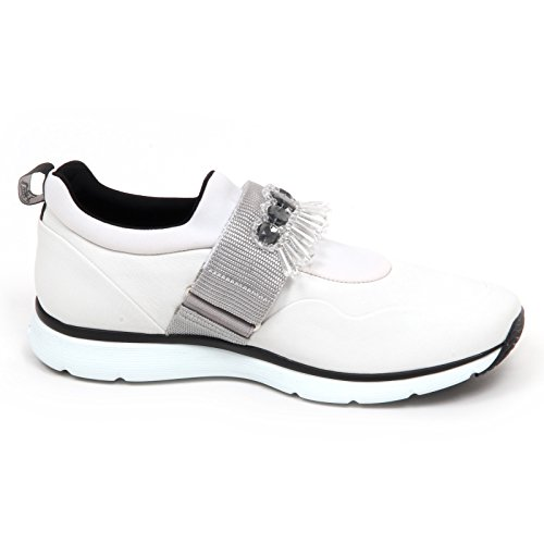 Bianco PIETRE E2884 Donna On Shoe Scarpa Hogan con Woman Sneaker H254 Bianco Slip q0twT6w
