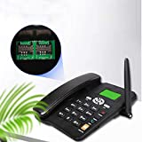 DSJGVN Wireless SIM Card GSM Classic Desk Phone