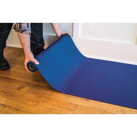 1.5mm H x 27in W x 10ft L Blue Neoprene Floor Runner