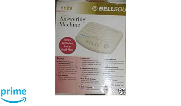 Amazon.com : BELLSOUTH Answering Machine #1129 : Answering Devices : Electronics