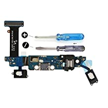 Dock Connector for Samsung Galaxy S6 G920T T- Mobile Charging Port Micro USB Flexkabel adhesive underside incl 2x screwdriver for installation by MMOBIEL